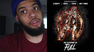[Reaccion] Me Compre Un Full (Avengers Version) - Sinfonico, Noriel, Miky Woodz, Almighty, Pusho