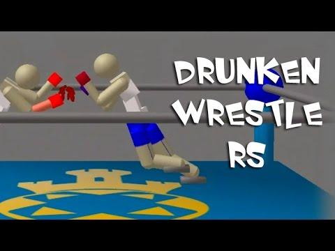 Битва Упоротых Рестлеров! - Drunken Wrestlers