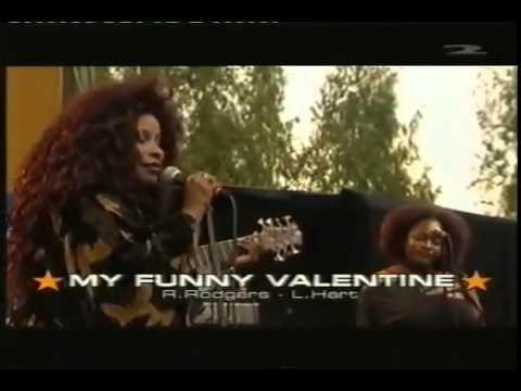 Elegant Chaka Khan   My Funny Valentine   Live In Pori   YouTube