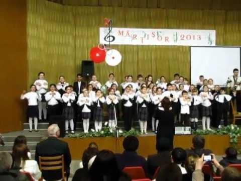 Mărțișor 2013, Școala de Muzică or.Fălești