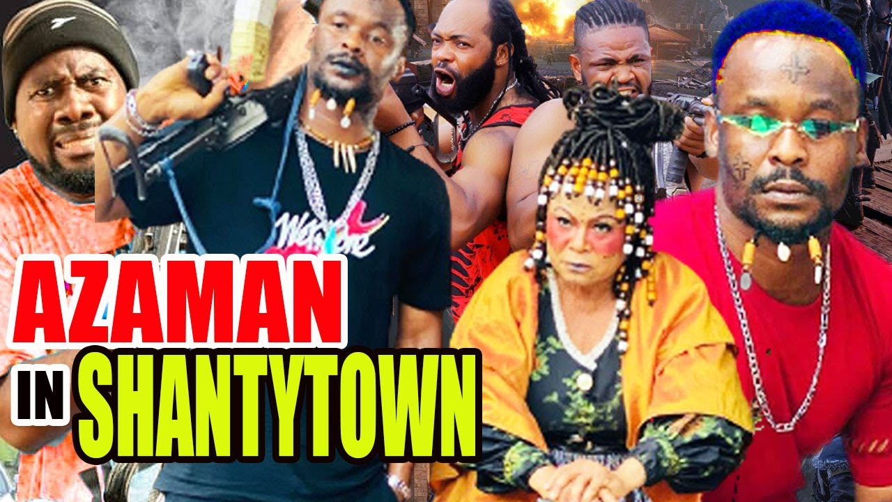Download Azaman In Shanty town  Full Movie - (New Movies) Zubby Michael 2021 Latest Nollywood Movies 2021