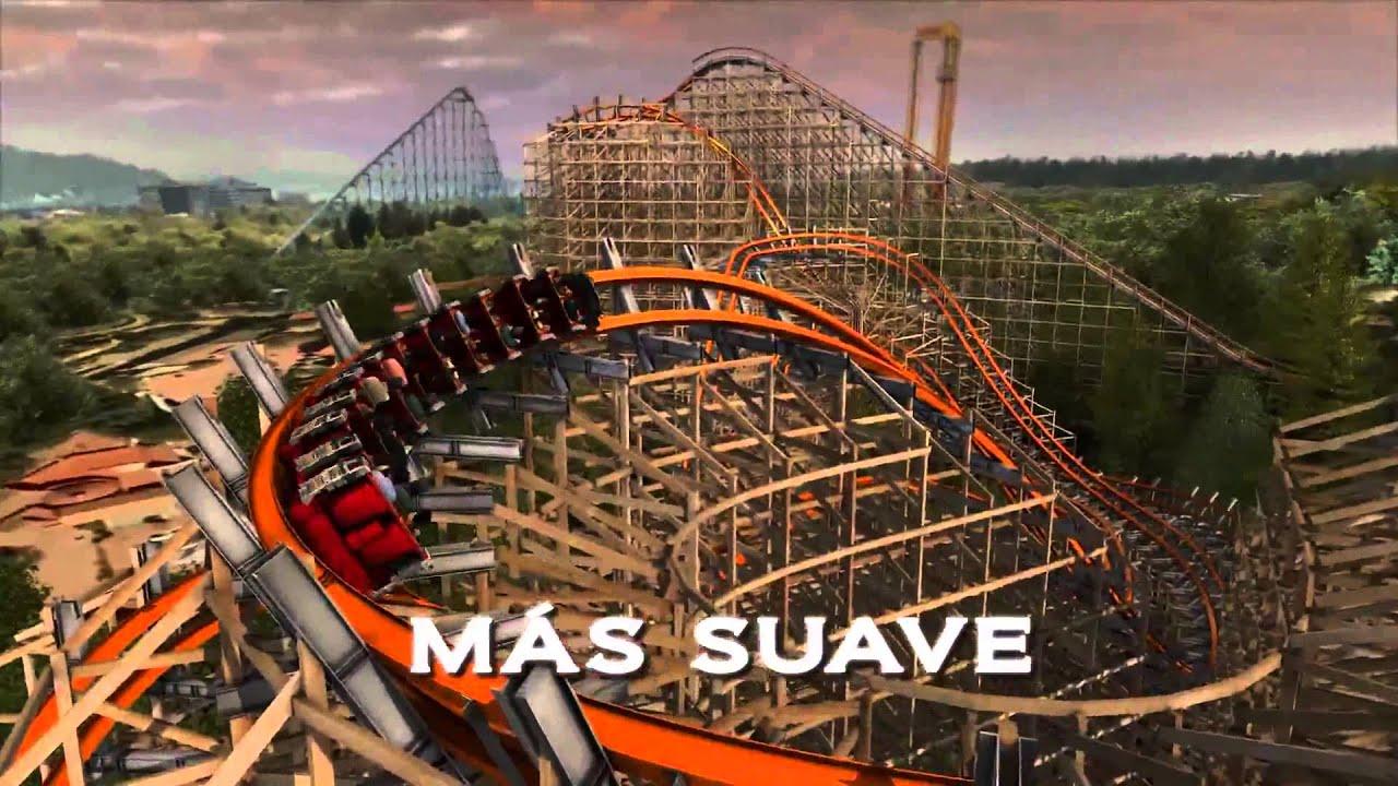 Medusa Steel Coaster Teaser Six Flags Mexico Youtube
