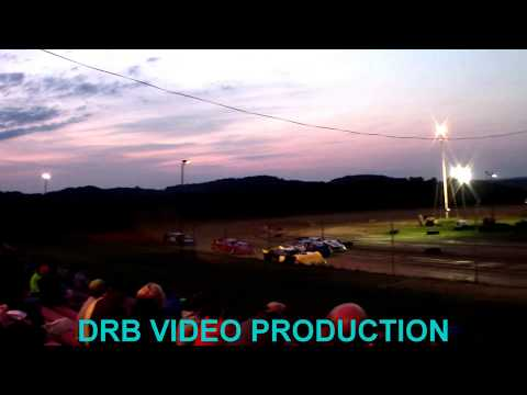 Marion Center Speedway 8/26/17 Steel Block Limited Late Model Heat 2 OF 2 part 1of 2