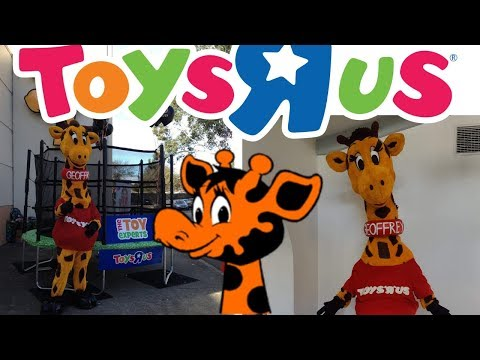 Toys R Us Geoffrey The Giraffe Costume - Original Australian Version