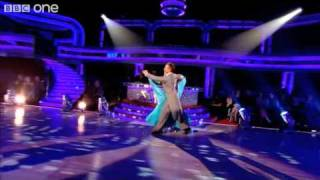 Pamela Stephenson Dances the Waltz - Strictly Come Dancing 2010 - BBC One