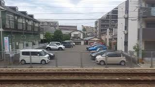鹿児島本線 811系 快速 モハ811-108 走行音 南福岡~博多