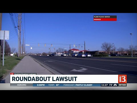 Indianapolis sues Carmel over roundabouts plan