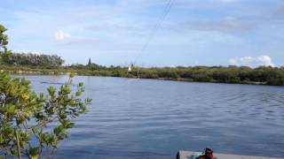 Wakeboarding at Keys Cable in The Florida Keys