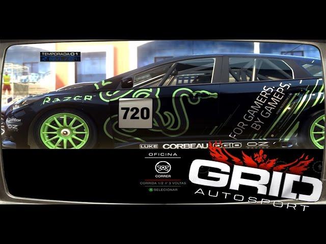 Grid Autosport - 1° Temporada Completa [fx4100 + Gtx550ti]