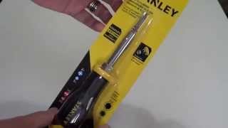 Stanley Screwdriver 6 Way Screwdriver Unboxing and Review