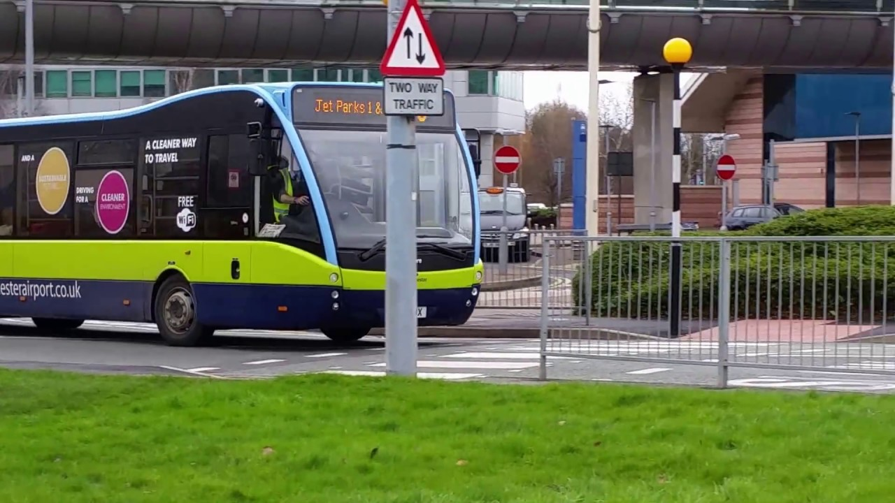 Buses At Manchester Airport 26th February Youtube