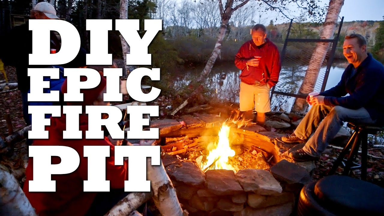 How To Build The ULTIMATE Fire Pit