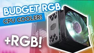 EPIC Budget RGB Cooler or RIPOFF Rebrand? [Cooler Master Hyper 212 Black Edition RGB Review!]