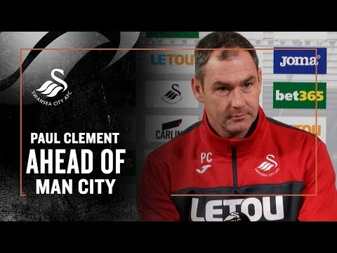 Press Conference LIVE: Paul Clement ahead of Man City.