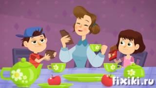 Фиксики - История вещей - Шоколад Фиксики | Образовательные мультики  для детей