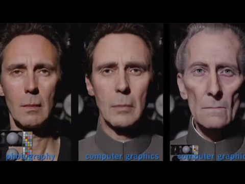 CGI Faces in Movies