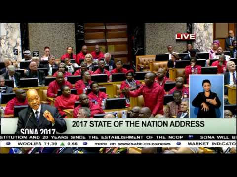 Malema lashes out at parliament speakers and president Zuma
