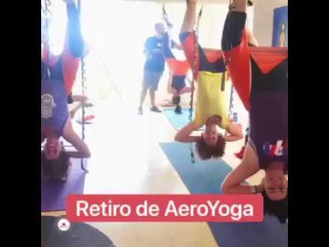 Formación Yoga Aéreo,  Retiro AeroYoga ® en Puerto Rico, Holístico, Técnico, Aeróbico