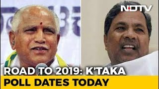 Karnataka Election Dates To Be Announced Today By Election Commission
