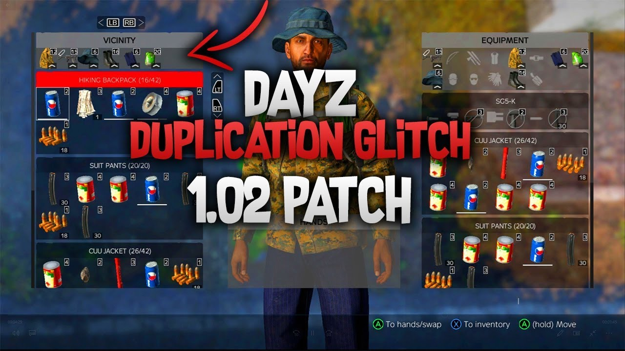 (WORKING) DayZ Duplication Glitch Xbox One - Dupe Kits In Minutes (AFTER  PATCH 1 02  | StarVoltz