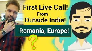 Online Live Call With Andrei, Romanian Online Businessman | One Minute Economics