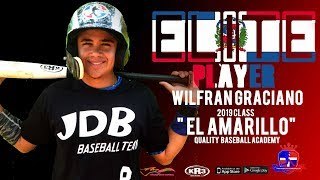 Wilfran Graciano SS 2019 Class from (Quality Baseball Academy)  Date video: 24.09.2018