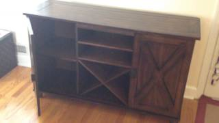 World market verona buffet tv stand assembly service in DC MD VA by Furniture Assembly Experts LLC