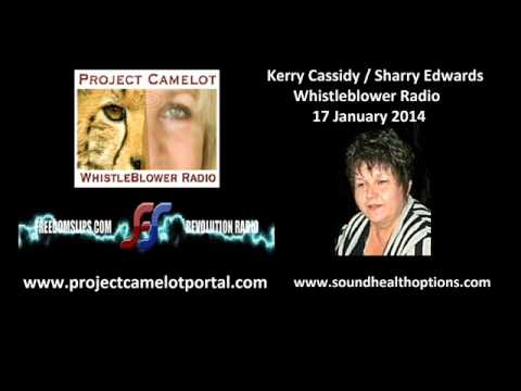 Kerry Cassidy / Sharry Edwards - 17 January 2014