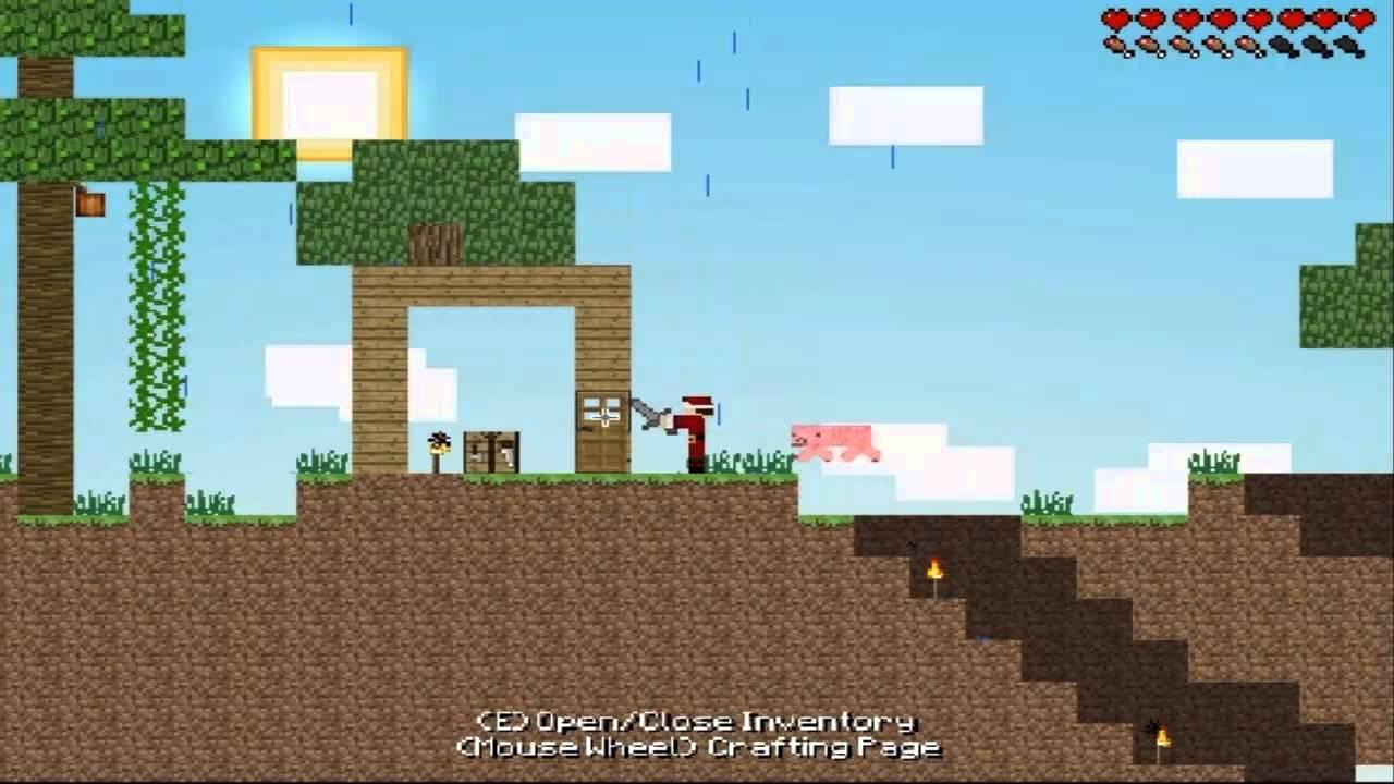 игры майнкрафт 2д бесплатно #7