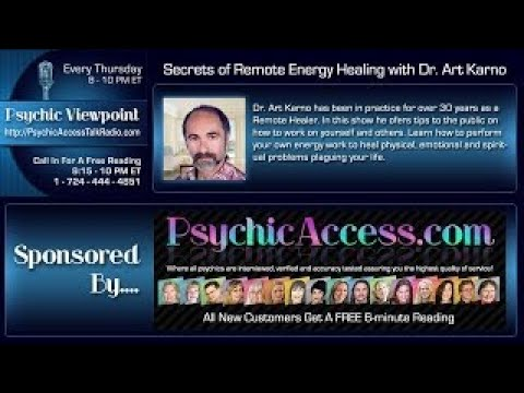 Secrets of Remote Energy Healing with Dr. Art Karno