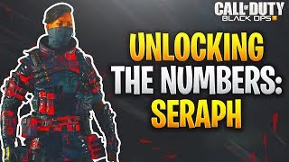 HOW TO UNLOCK THE NUMBERS OUTFITS IN BLACK OPS 4:SERAPH NUMBERS OUTFIT EASY UNLOCK (COD BO4 )
