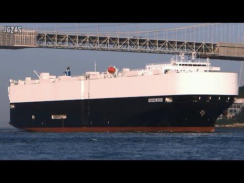 GOOD WOOD Vehicles carrier 自動車船 Zodiac Maritime 関門海峡 2014-SEP