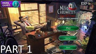 Noir Chronicles: City of Crime CE GAMEPLAY part 1 - Hidden Object Game Walkthrough STEAM PC