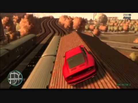 GTA IV Stunts and Tricks