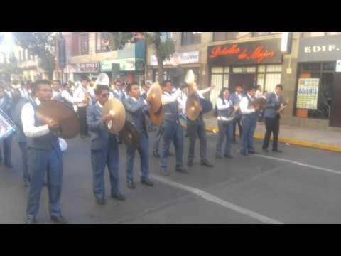SAN SIMON CBBA junto a la Banda Union Juvenil