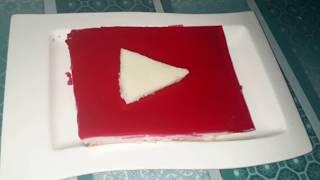 Homemade Youtube cake