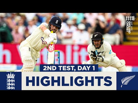 England v New Zealand - Day 1 Highlights | Fans Return to Ed