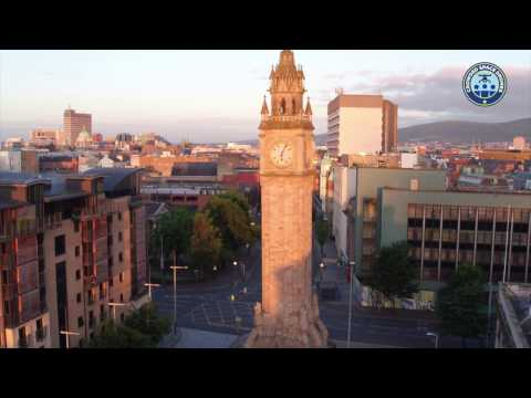Belfast City Centre Sunrise