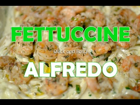 Homemade Fettuccine Alfredo