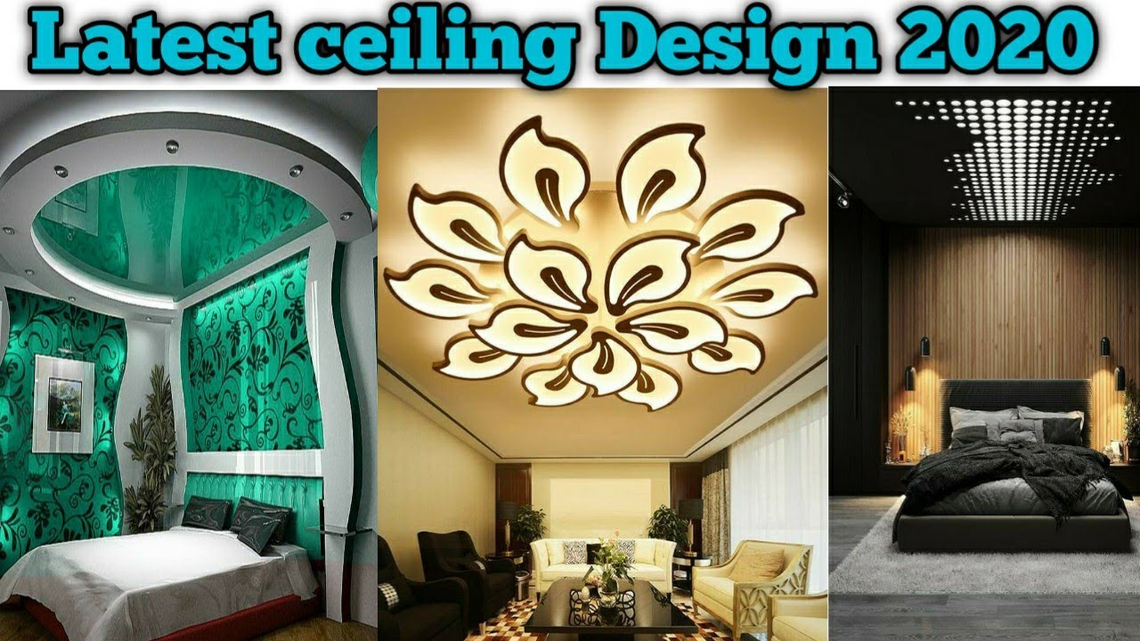 Latest Ceiling Designs 2020 Ceiling Design Pictures Living And Bedroom False Ceiling Wood Face Youtube