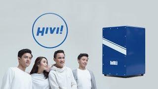 Remaja - HiVi! Cajon Cover - Royale Cajon Radiant Blue Stripes