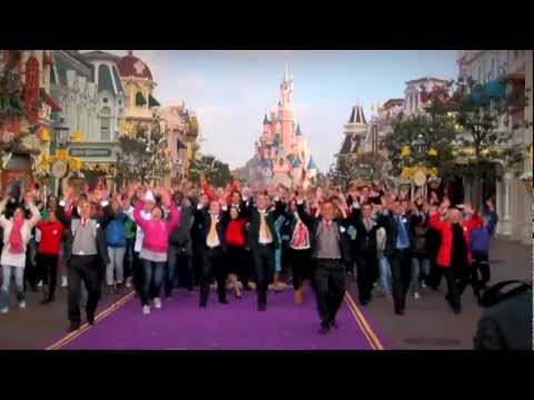 Flashmob and Street Party - Disneyland Paris 20th Anniversary