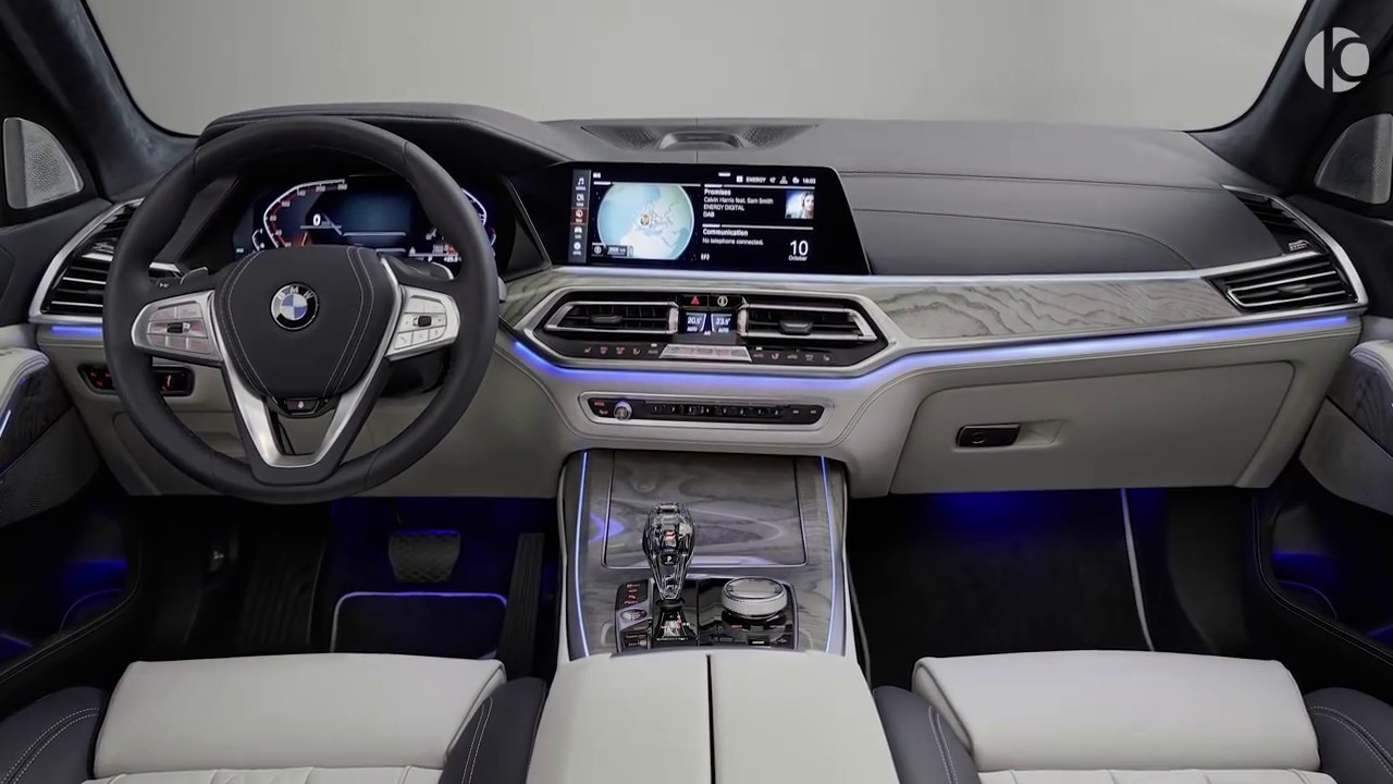 Bmw X7 2019 Interior Review Youtube