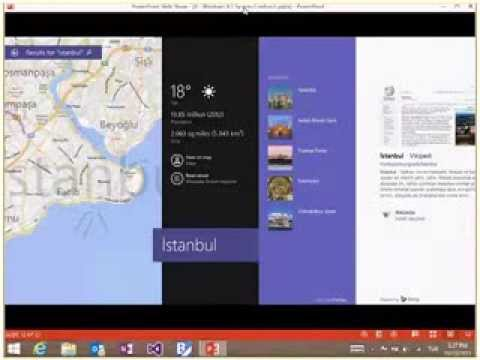 [Windows 8.1 Development Series] 4 - Windows 8.1 System Contracts, Share, Search, Settings