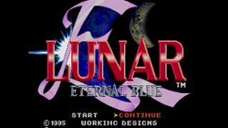 Mega-CD Longplay [126] Lunar II Eternal Blue (part 1 of 8)