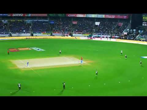 India vs New Zealand T20.First Delivery at Sports Hub Trivandrum