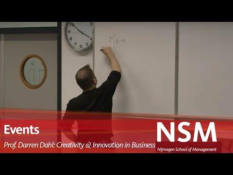 Professor Darren Dahl: Creativity and Innovation in Business