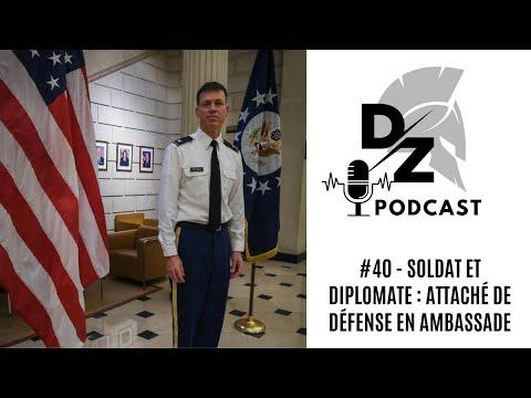 Rencontre avec l'attaché de Défense américain en France