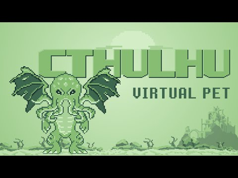 Cthulhu Virtual Pet Full Gameplay