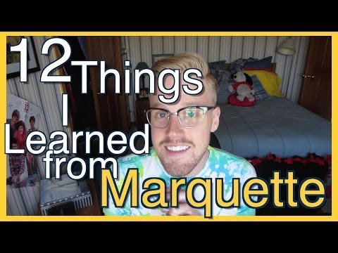 12 Things I Learned at Marquette